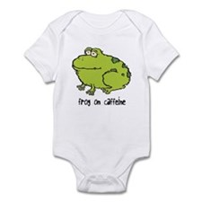 Frog On Caffeine Infant Bodysuit