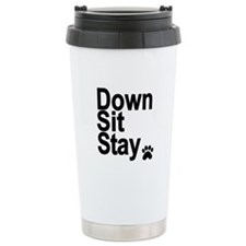 Down... Ceramic Travel Mug