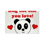 HUG THE ONE YOU LOVE Rectangle Magnet (10 pack)