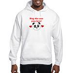 HUG THE ONE YOU LOVE Hooded Sweatshirt