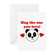 HUG THE ONE YOU LOVE Greeting Cards (Pk of 10)
