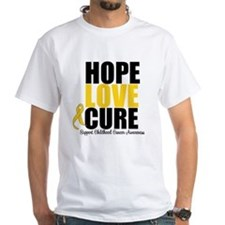 HopeLoveCure ChildhoodCancer Shirt