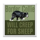 Creep for Sheep Tile Coaster