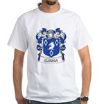 Clough Coat of Arms White T-Shirt