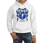Clough Coat of Arms Hooded Sweatshirt