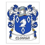 Clough Coat of Arms Small Poster