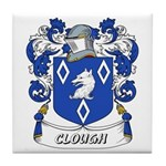 Clough Coat of Arms Tile Coaster