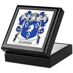 Clough Coat of Arms Keepsake Box