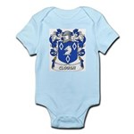 Clough Coat of Arms Infant Creeper