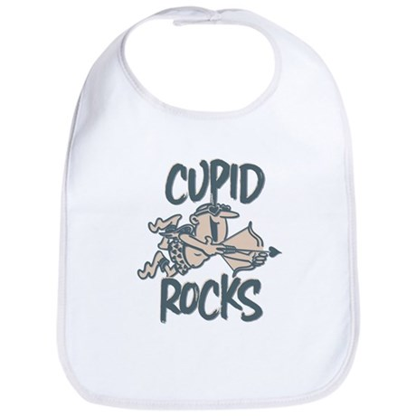 Cupid Rocks Bib