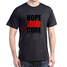 HopeLoveCure Blood Cancer T-Shirt