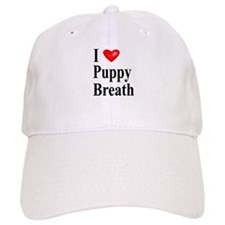 Puppy Breath Baseball Cap