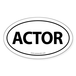 ACTOR Euro Style Auto (Oval) -White