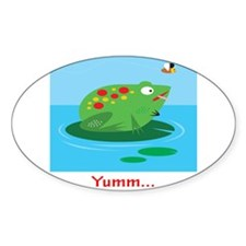 Yumm Oval Sticker (10 pk)