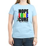 HopeLoveCure Autism Women's Light T-Shirt