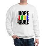 HopeLoveCure Autism Sweatshirt
