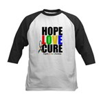 HopeLoveCure Autism Kids Baseball Jersey