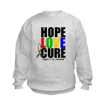 HopeLoveCure Autism Kids Sweatshirt