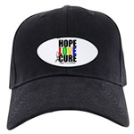 HopeLoveCure Autism Black Cap