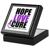 HopeLoveCure Alzheimer's Keepsake Box
