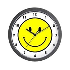 Happy Face Wall Clock