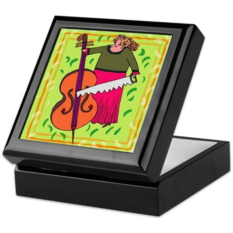 Funny Cello Keepsake Box