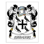 Edwards Coat of Arms Small Poster