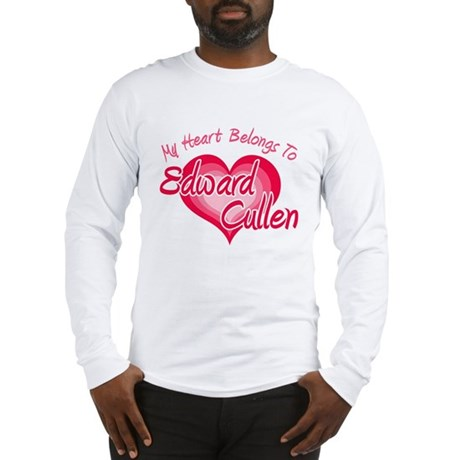 Edward Cullen Heart Long Sleeve T-Shirt