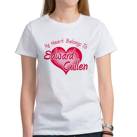 Edward Cullen Heart Women's T-Shirt