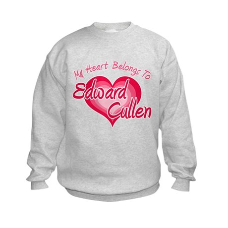 Edward Cullen Heart Kids Sweatshirt