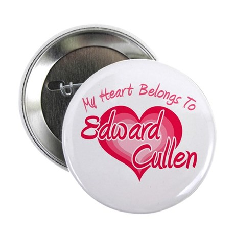 "Edward Cullen Heart 2.25"" Button (100 pack)"