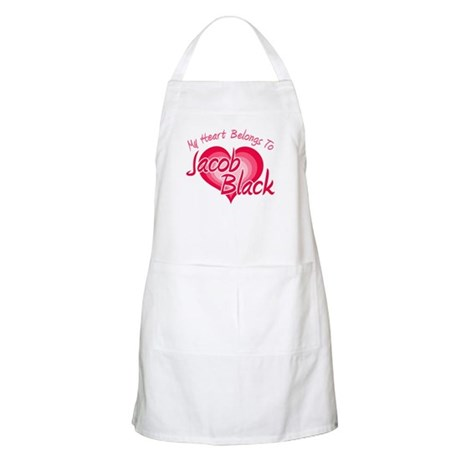 Heart Jacob Black BBQ Apron