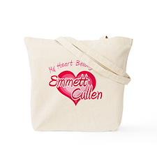 Emmett Cullen Heart Tote Bag