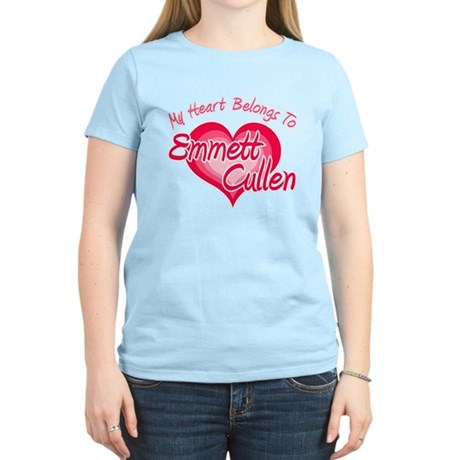 Emmett Cullen Heart Women's Light T-Shirt