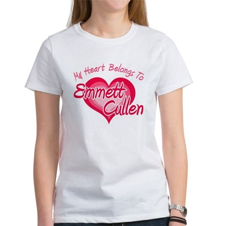 Emmett Cullen Heart Women's T-Shirt