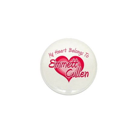 Emmett Cullen Heart Mini Button (100 pack)