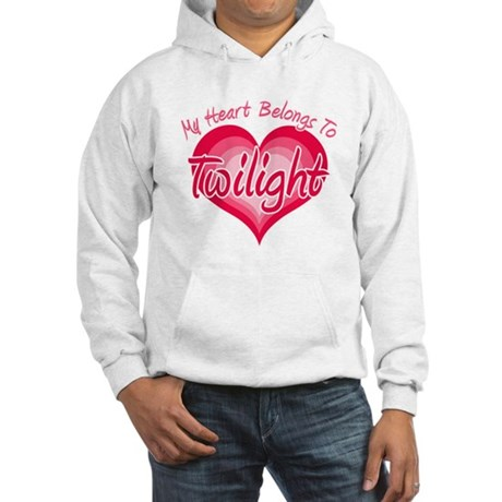Heart Belongs Twilight Hooded Sweatshirt