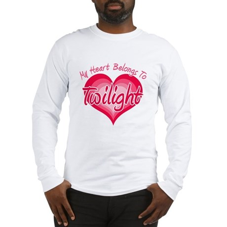 Heart Belongs Twilight Long Sleeve T-Shirt
