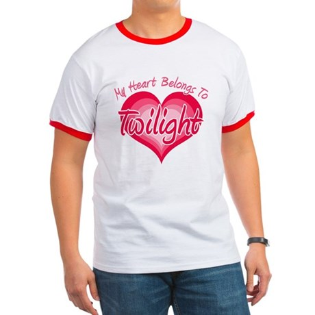 Heart Belongs Twilight Ringer T