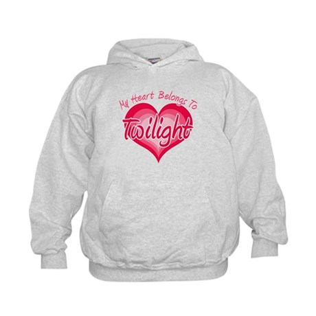 Heart Belongs Twilight Kids Hoodie
