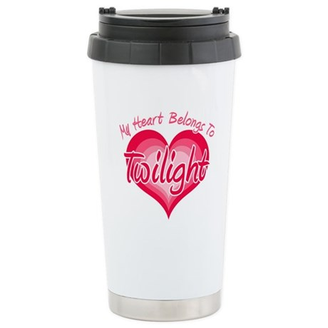 Heart Belongs Twilight Ceramic Travel Mug