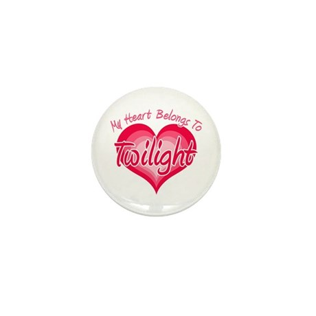 Heart Belongs Twilight Mini Button
