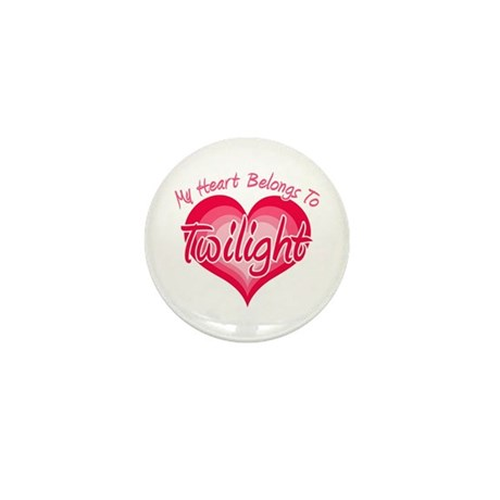 Heart Belongs Twilight Mini Button (10 pack)