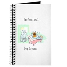 Professional Dog Groomer Logo Journal