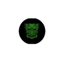 Green Dragons Mini Button (10 pack)