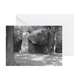 Log Cabin Greeting Cards (Pk of 10)