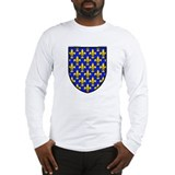 France: Heraldic Long Sleeve T-Shirt