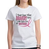 Bravery (Mother) Breast Cancer Awareness Tee