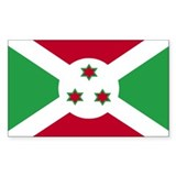 Burundi Rectangle Decal