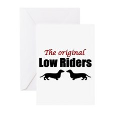 Low Riders Greeting Cards (Pk of 20)
